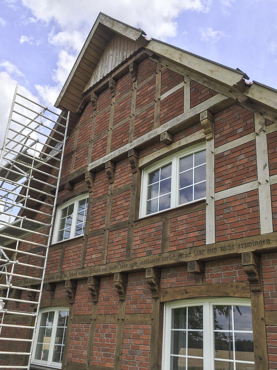 Fassadenlackierung