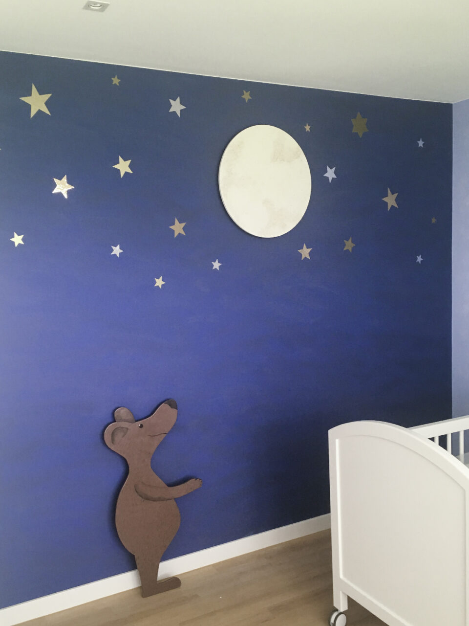 Kinderzimmer Malerarbeiten